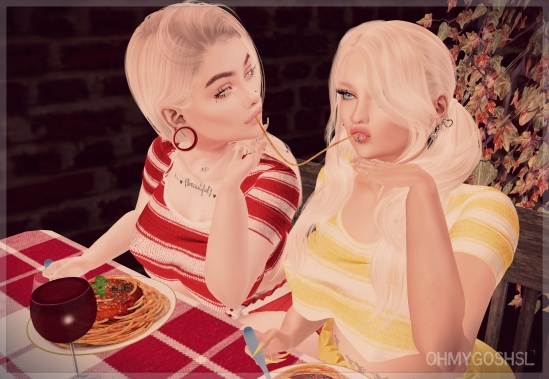 don't be upsetti eat some spaghetti